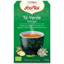 Yogi tea energy green