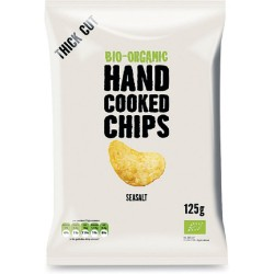 10 x Hand cooked chips - classiche con sale