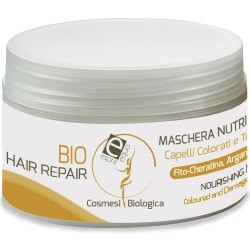 Bio hair repair - maschera intensiva nutriente capelli colorati e trattati