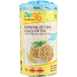 Gallette di riso integrale senza sale